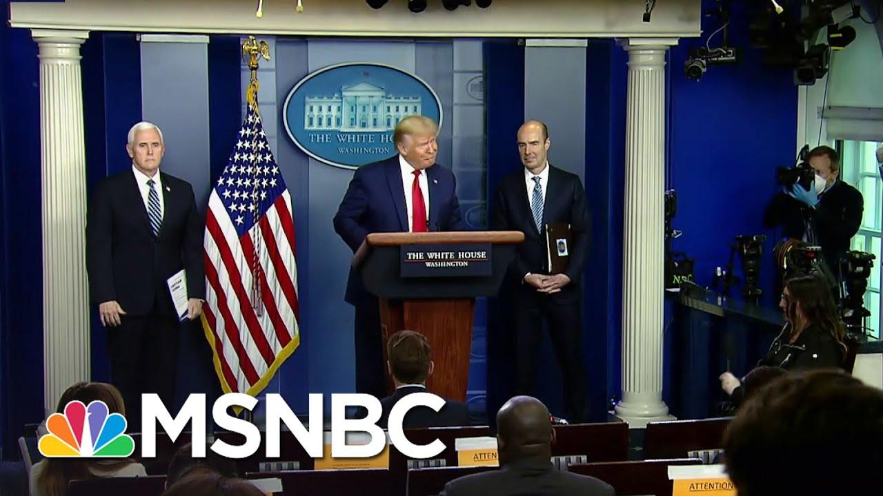 Trump Blames World Health Organization For His Coronavirus Response | The Last Word | MSNBC 1