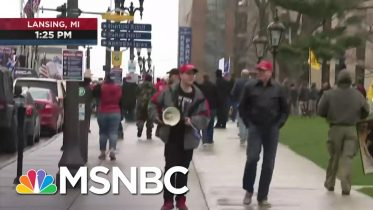Michigan Gov. Whitmer Faces Backlash Over Stay-At-Home Order | MSNBC 6