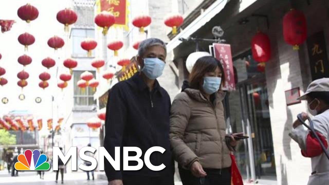 Coronavirus Red Flags Popping Up Across Asia | Morning Joe | MSNBC 3