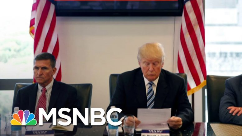 Justice Department Moves To Drop Prosecution Of Michael Flynn Case | Andrea Mitchell | MSNBC 1