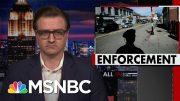 Chris Hayes On 'Disproportionate' Enforcement Of Coronavirus Lockdown | All In | MSNBC 5