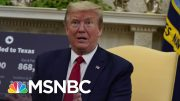 Unease At Trump White House After Its Second Confirmed COVID-19 Case | The 11th Hour | MSNBC 5