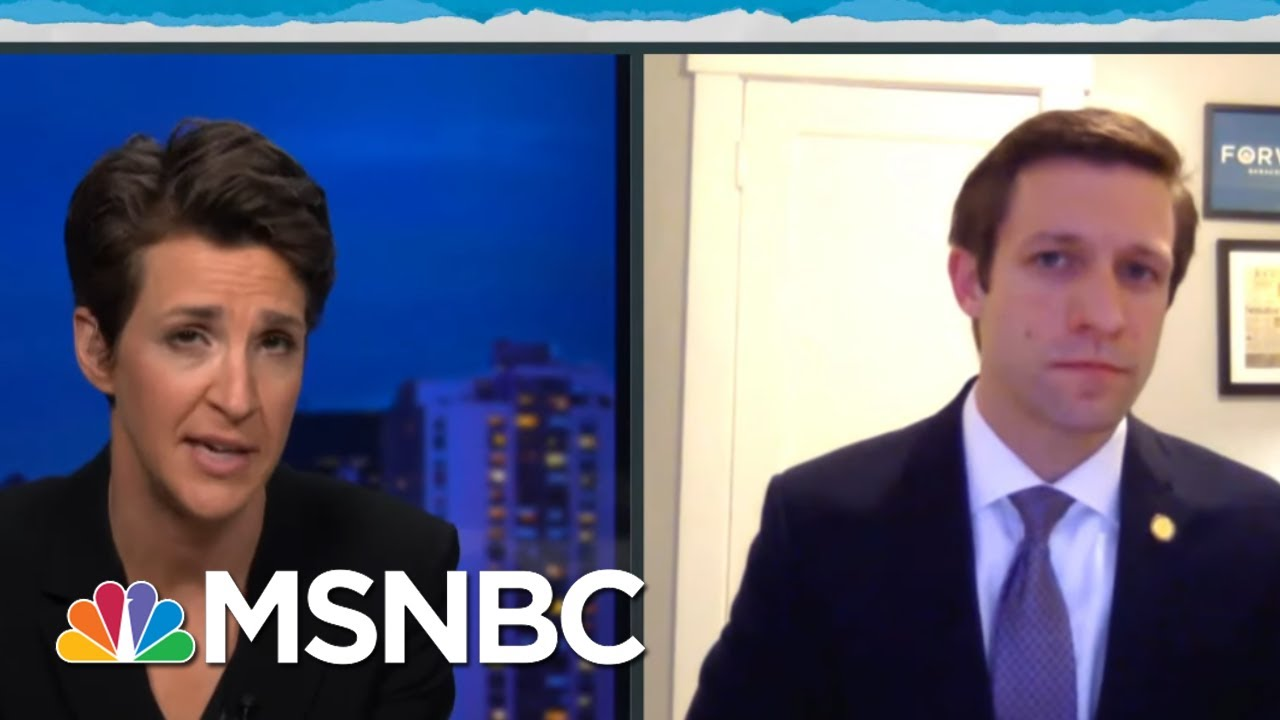 Governor's Back-To-Business Zeal Leaves Public Less Informed, Less Safe | Rachel Maddow | MSNBC 1