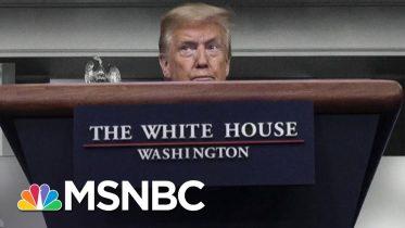 Trump Says He Downplayed Coronavirus Because He's America's Cheerleader | The 11th Hour | MSNBC 6