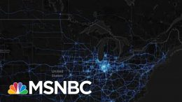 Map Shows Even 'Regular People' Can't Avoid Coronavirus Spread | Rachel Maddow | MSNBC 2