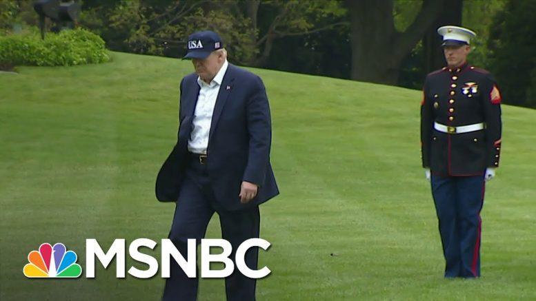 WH Takes New Precautions To Stop Virus From Spreading In The West Wing | Andrea Mitchell | MSNBC 1