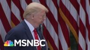 'Don't Ask Me, Ask China': Trump Abruptly Ends Briefing When Asked About China Hostility | MSNBC 2