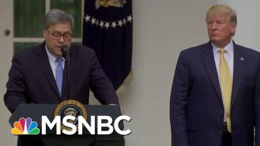 Trump's Attorney General Barr Called To Resign For 'Assaults On The Rule Of Law' | MSNBC 5
