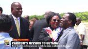 CARICOM LEADERS ON MISSION TO GUYANA 4