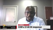 CDB'S  $140M  RESPONSE 3