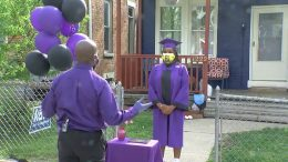 Diplomas hand-delivered to students graduating in lockdown 7
