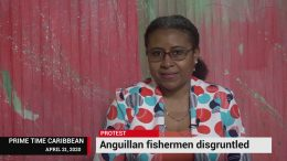 DISGRUNTLED FISHERMEN IN ANGUILLA PROTEST 7