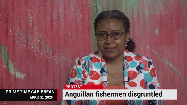 DISGRUNTLED FISHERMEN IN ANGUILLA PROTEST 1