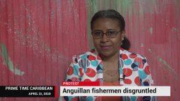 DISGRUNTLED ANGUILLIAN FISHERMEN PROTEST 8