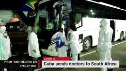 CUBA SENDS DOCTORS TO SOUTH AFRICA 8