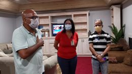 PETER DAVID REMARKS on arrival of Cuban doctors (may 1). 6