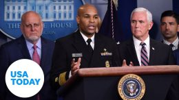 Coronavirus Task Force gives briefing on outbreak   USA TODAY 8