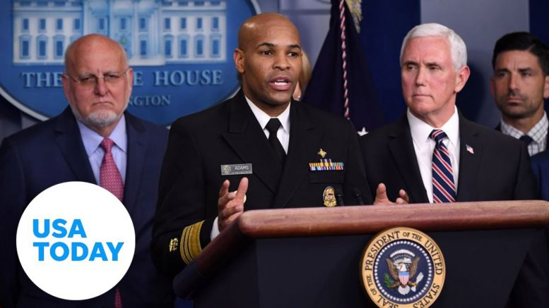 Coronavirus Task Force gives briefing on outbreak | USA TODAY 1