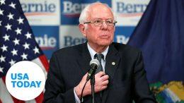 Bernie Sanders addresses coronavirus outbreak   USA TODAY 1