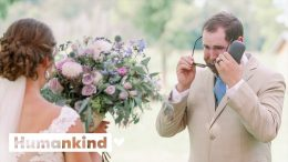 Groom sees full color for first time on wedding day | Humankind 4