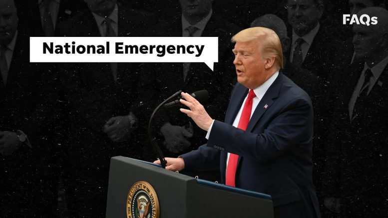 What is a national emergency? | Just The FAQs 1