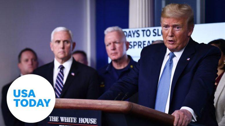 White House addresses coronavirus outbreak: 3/16/2020 | USA TODAY 1