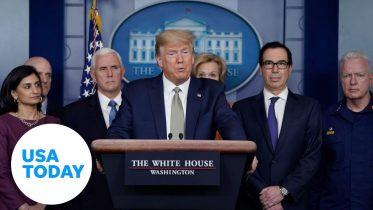 White House addresses coronavirus outbreak: 3/17/2020 | USA TODAY 10