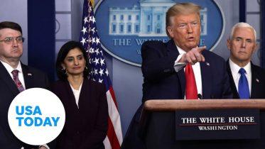 White House addresses coronavirus as U.S. death toll rises | USA TODAY 6
