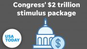 Senate announces coronavirus stimulus deal, reaches trillions of dollars | USA TODAY 2