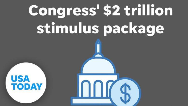 Senate announces coronavirus stimulus deal, reaches trillions of dollars | USA TODAY 1