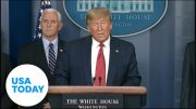 President Trump announces coronavirus disaster relief for several states | USA TODAY 3