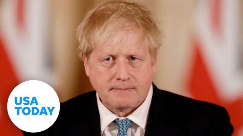 British Prime Minister Boris Johnson tests positive for coronavirus   USA TODAY 1