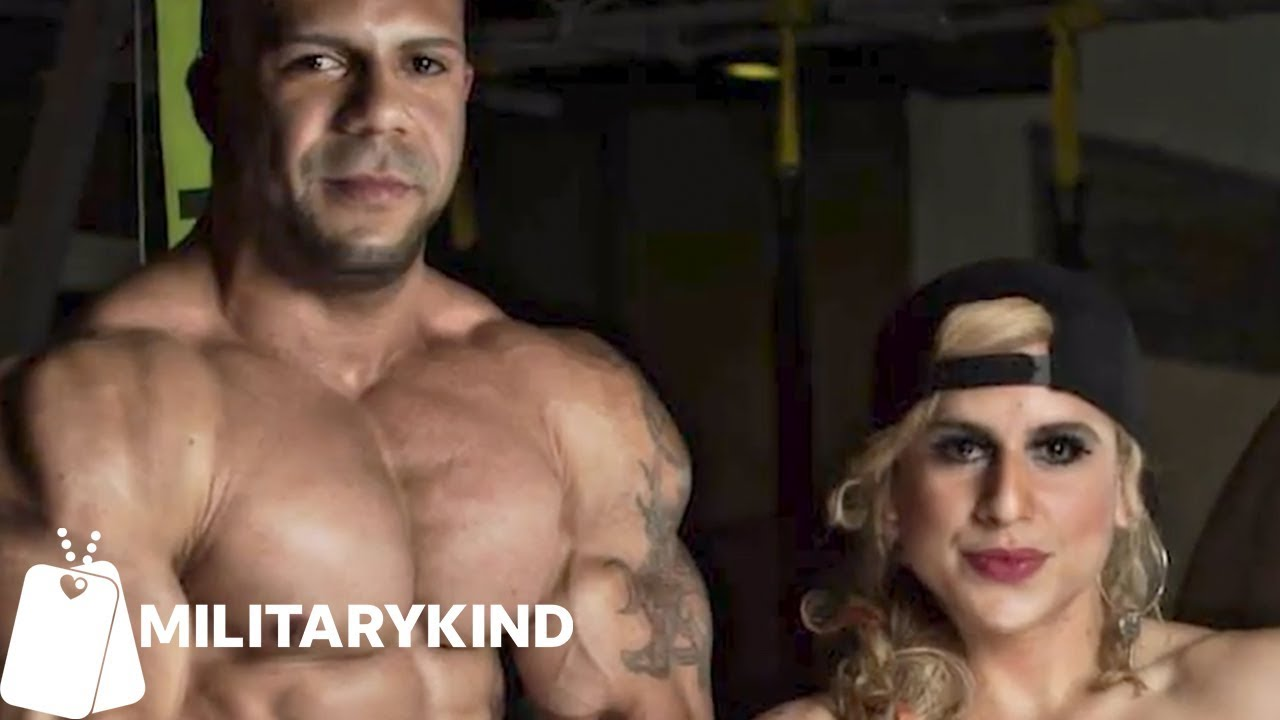 Bodybuilding couple reunited after a year of deployment | Militarykind 1