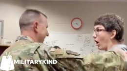 Air Force dad gives son a scare before the surprise | Militarykind 6