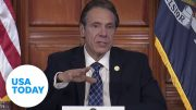 Gov. Andrew Cuomo addresses brother Chris testing positive for coronavirus | USA TODAY 5