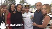 Sailor hugs mom for first time in two years | Militarykind 2