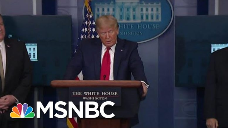 Trump Continues Looking For 'Targets To Blame' | Morning Joe | MSNBC 1