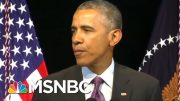 Obama Calls Trump Administration's Virus Response 'Chaotic Disaster' | The Last Word | MSNBC 3