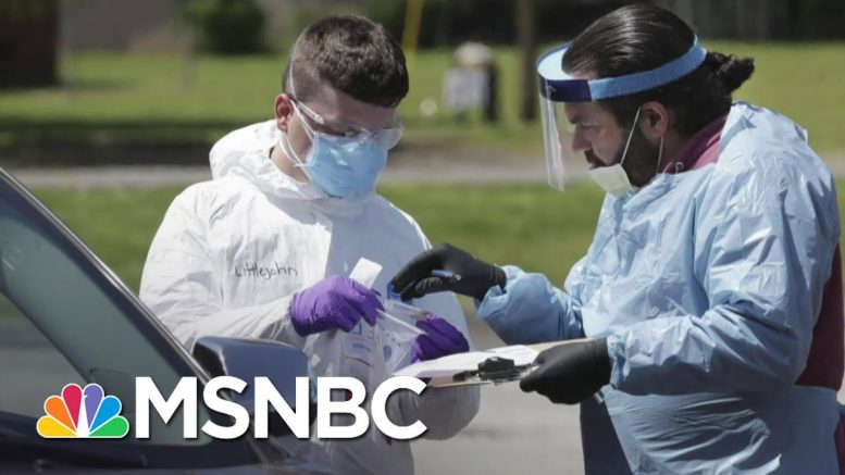 Trump Still Insists 'Anyone' Can Get Tested For Coronavirus; It's Not True.   The Last Word   MSNBC 1