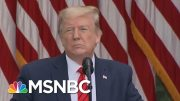 COVID-19 Hits Close To Home As Top White House Aides Test Positive - Day That Was | MSNBC 3