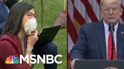 Trump Abruptly Ends News Briefing After Clash With Reporters | Morning Joe | MSNBC 4