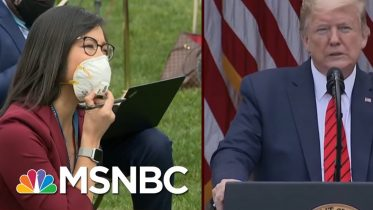 Trump Abruptly Ends News Briefing After Clash With Reporters | Morning Joe | MSNBC 3