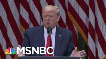 Trump Makes False Claims On Per Capita Virus Death Rates: WaPo | Morning Joe | MSNBC 6