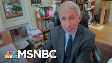 Fauci Urges Caution About Reopening Schools In The Fall | MSNBC 10