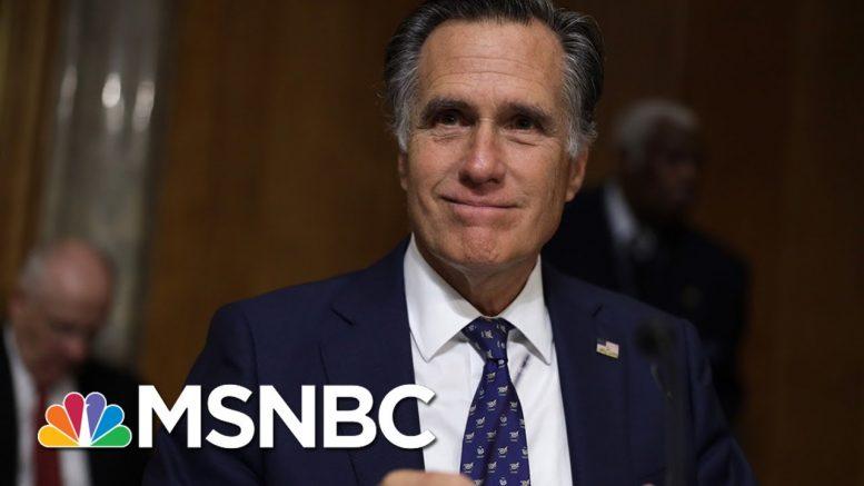 Romney: US Coronavirus Testing Record 'Nothing To Celebrate'   MSNBC 1