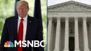 Trump Could Lose Crucial Tax Return Case After Tough Supreme Court Hearing | MSNBC 3
