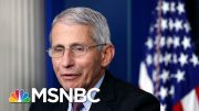 Confronting Trump, Dr. Fauci Invokes Moral Stakes Of Reopening During Pandemic | MSNBC 4