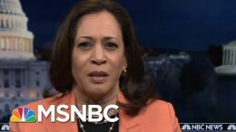 Sen. Kamala Harris: Bill Barr Doesn't Know What Justice Means | All In | MSNBC 4