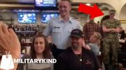 Sailor reveals himself to parents through epic photobomb | Militarykind 2