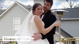Couple streams nuptials during pandemic | Humankind 3